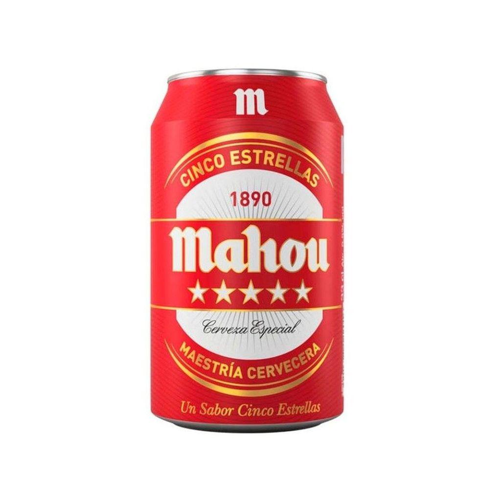 Cerveza Mahou 5 Estrellas