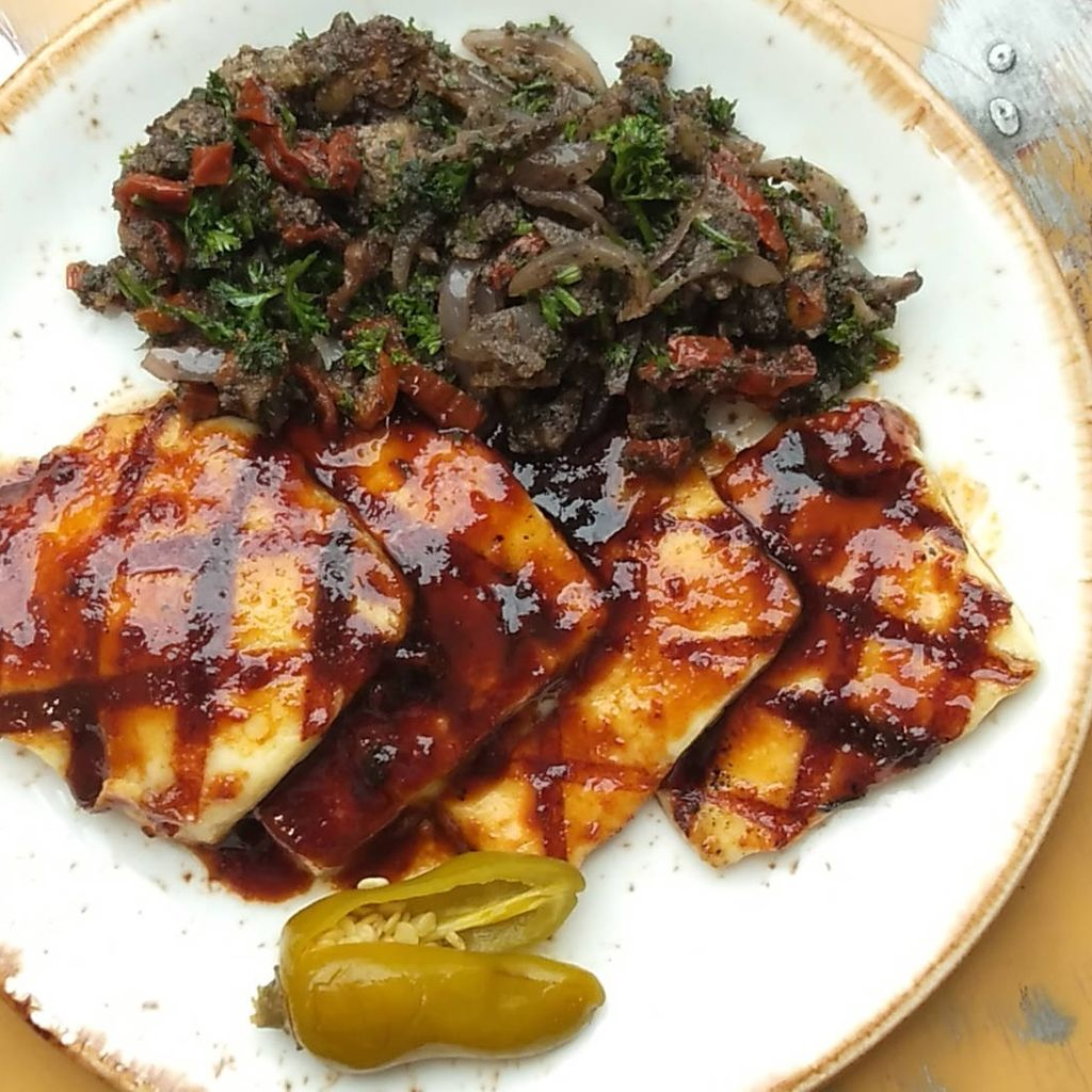 Chargrilled Halloumi