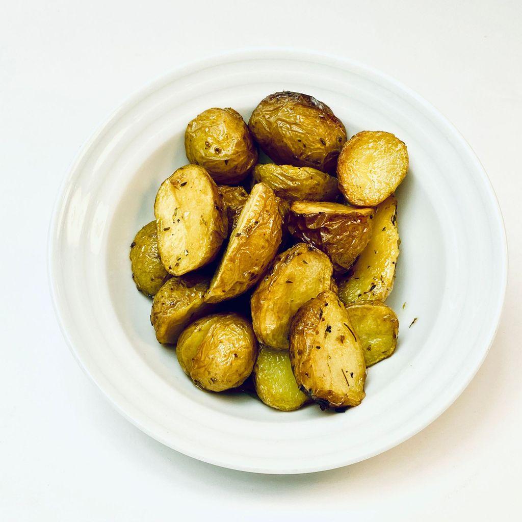 Batatas assadas