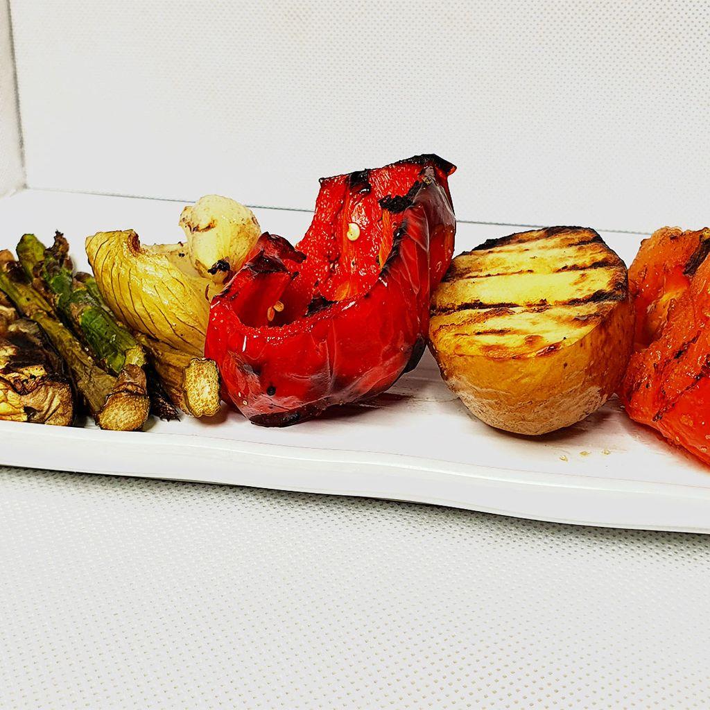 Parrillada de verduras extra   Extra Grilled Vegetables