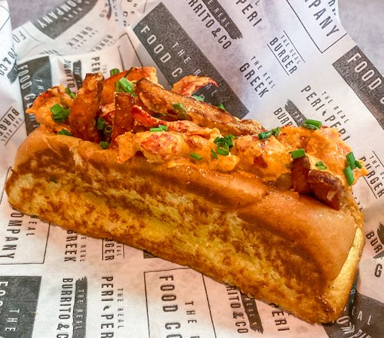 The Sweet P Lobster Roll