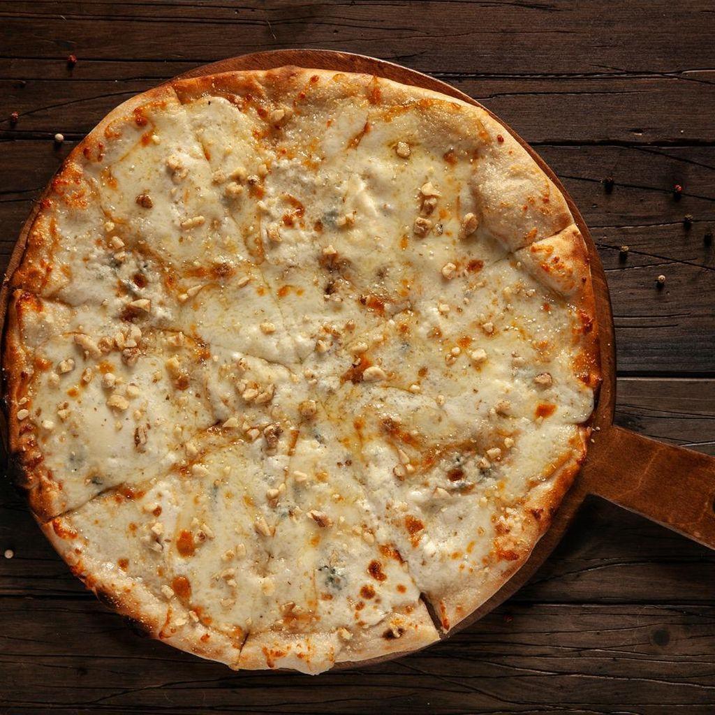 Pizza Quesos Frescos de la Bresca