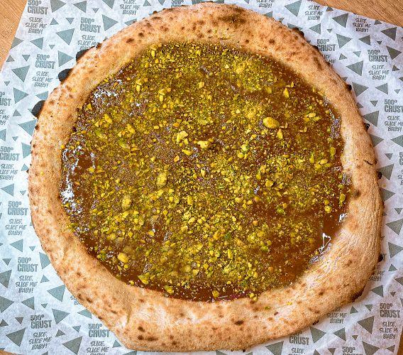 Pizza de Nutella & Pistacchio