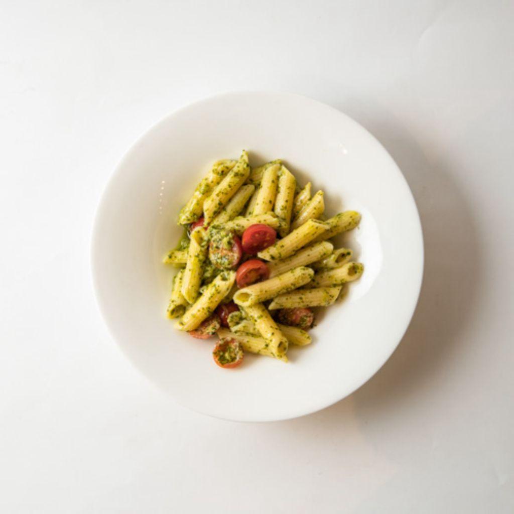 Rigatoni Rummo con salsa Pesto alla Genovese