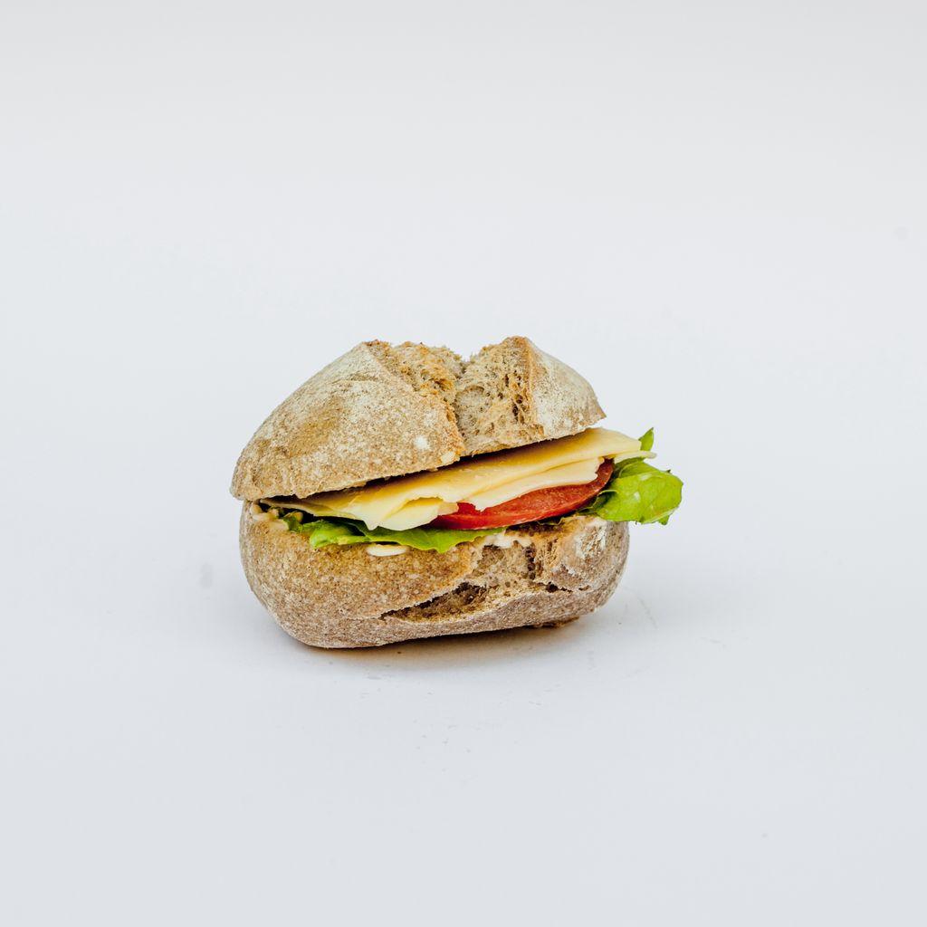 Mini bocadillo vegetal