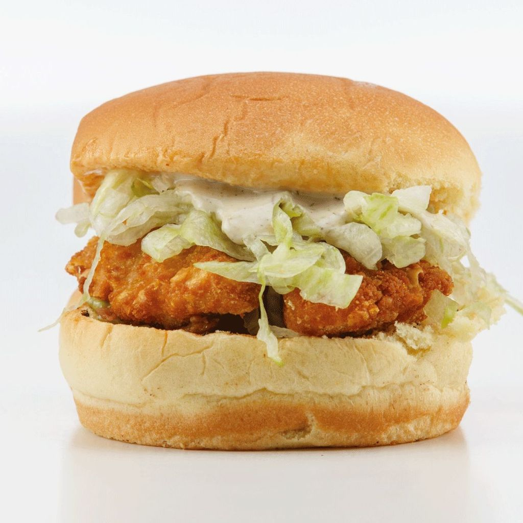 Menu Beyond Chicken burger
