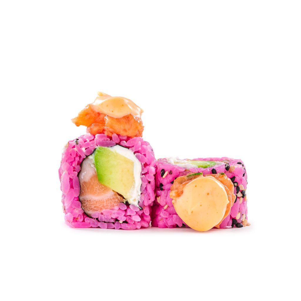 Pink salmon hot