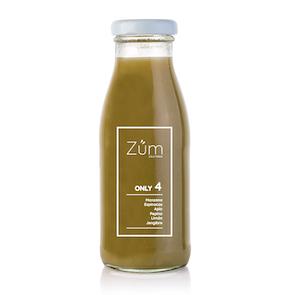 Züm Only 4 Manzana, espinacas, apio, pepino, limón y jengibre