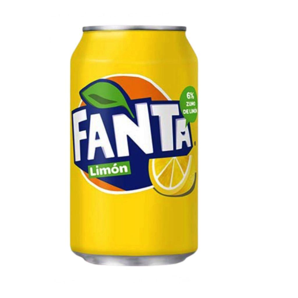 Lata Fanta Limón 33 cl