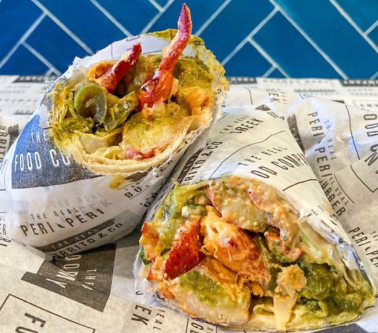 The Hot Crazy Lobster Wrap