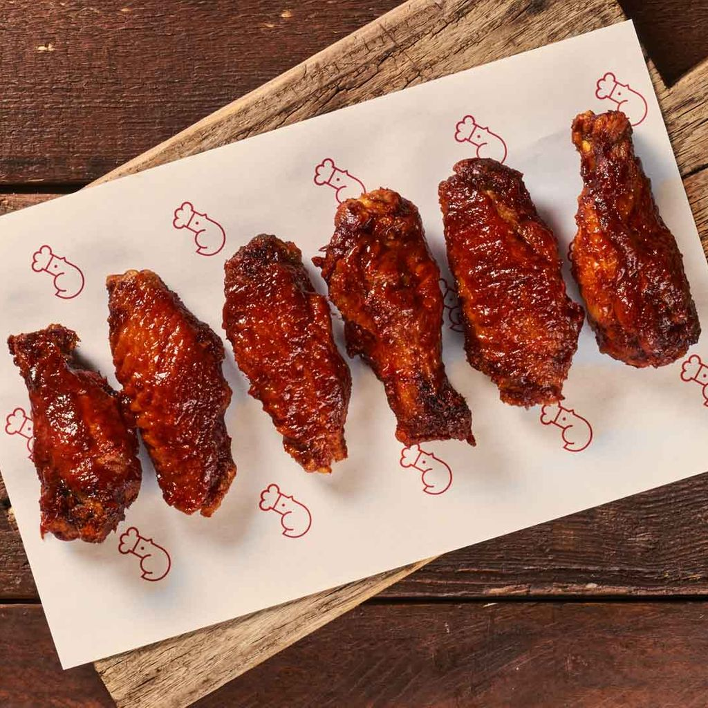 BBQ Chipotle Wings ️️