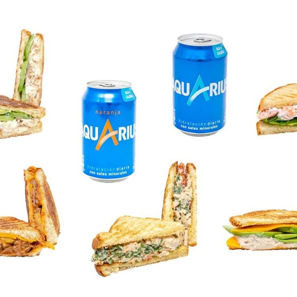 Pack 5 Sandwiches+2 bebidas