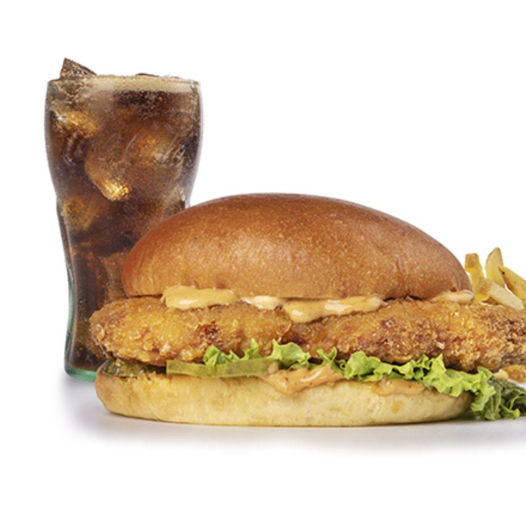 Menú Louisiana Chicken Burger