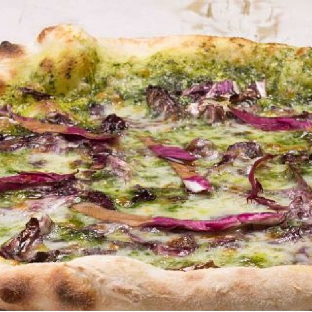 Pizza Infantil Pesto