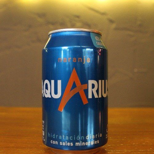 Aquarius Naranja Lata