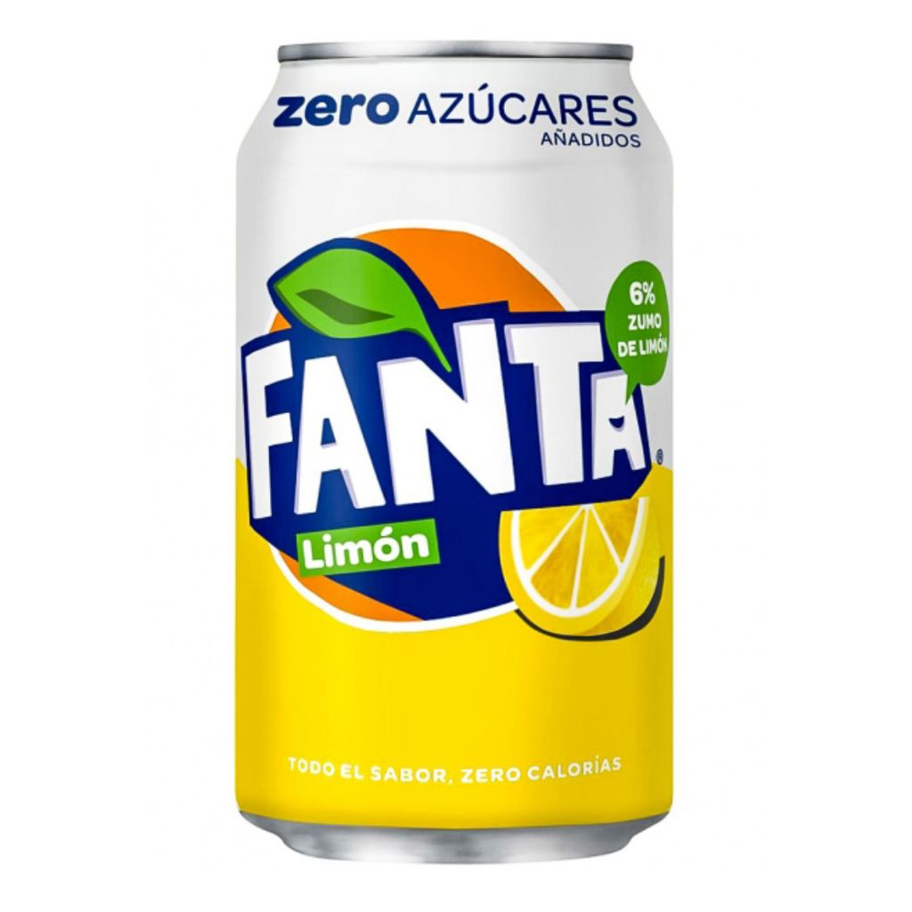 Fanta de Limón Zero