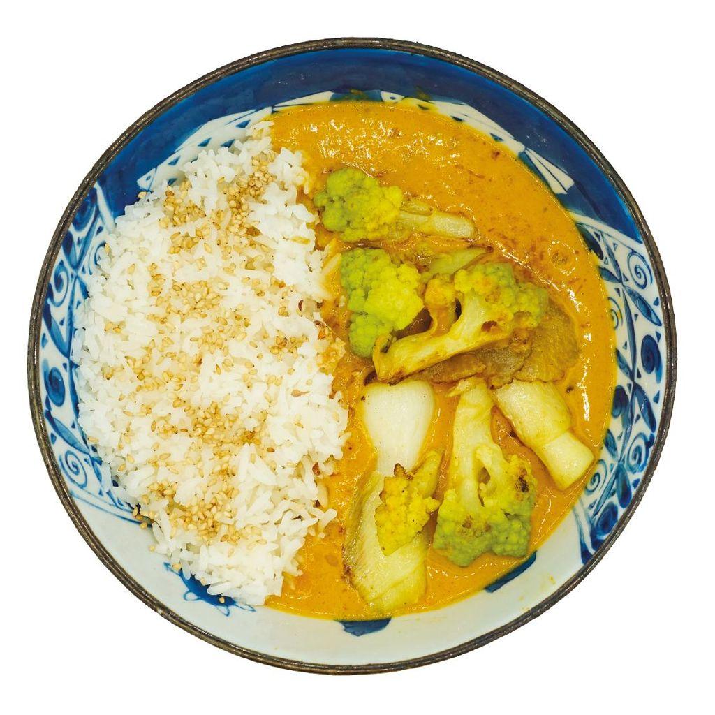Riso Curry Veggie