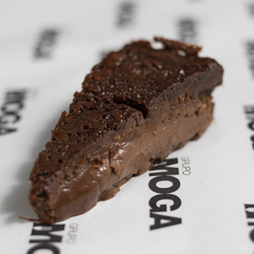 Tarta coulant de chocolate