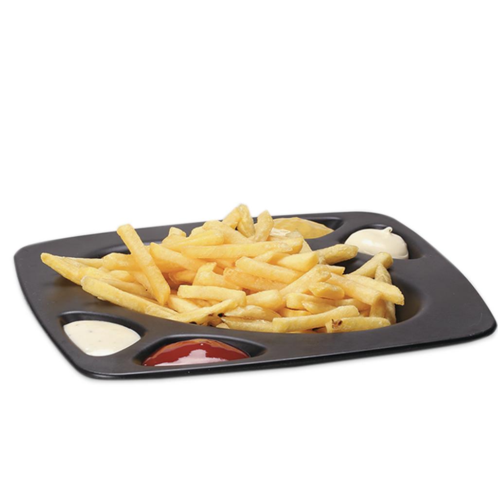 Patatas Fritas 4 Salsas