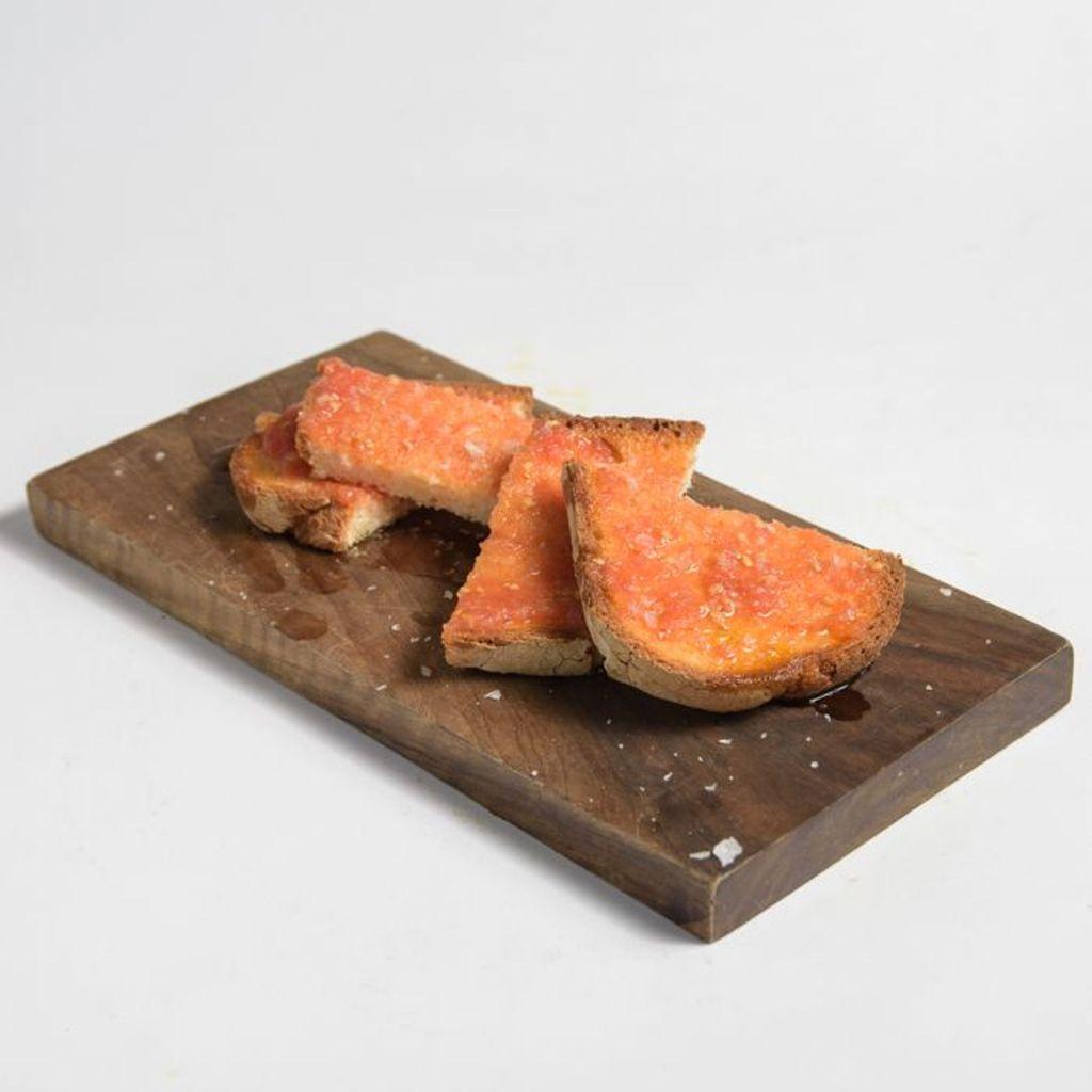 Pan de Payés sin Gluten Tostado con Tomate