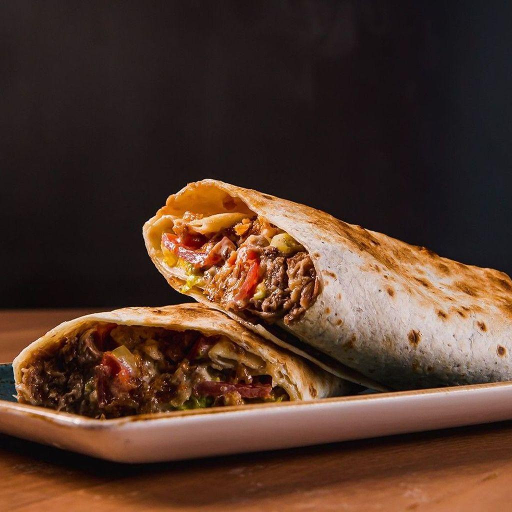 The Ribsperience Burrito