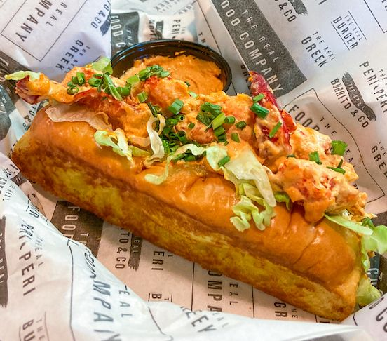 The Spicy Lobster Roll