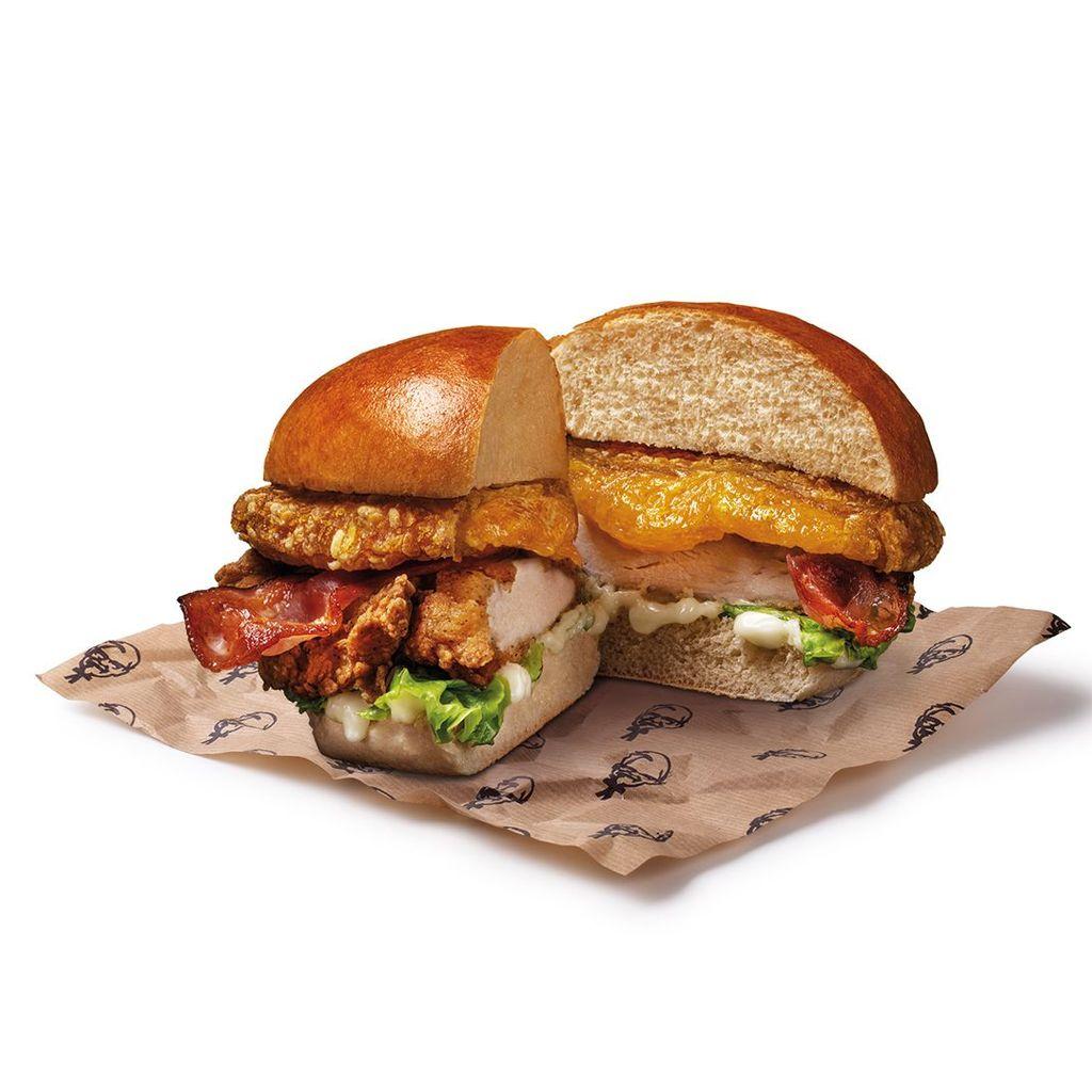 Cheddar Addiction Burger